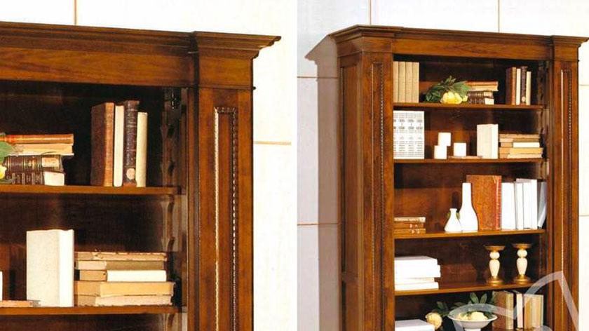 Librerie Di Legno Classiche.Librerie Componibili